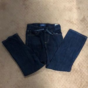 Boys Old Navy Pull on Jeans straight leg